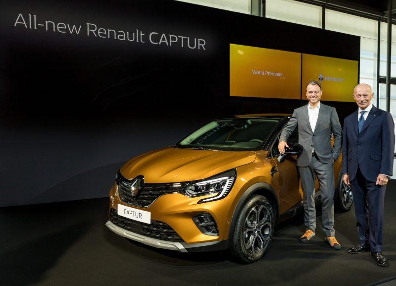 Yeni Renault Captur Frankfurt Otomobil Fuarı'nda tanıtılıyor