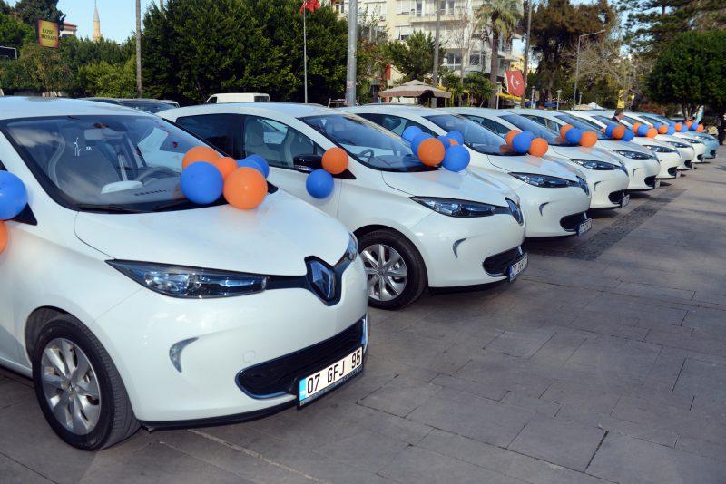 Antalya Büyükşehir Belediyesi'nin Tercihi Renault ZOE
