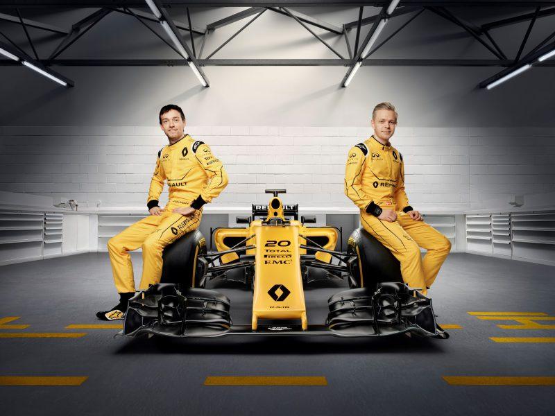 Yeni Renault Sport Formula 1 Takımı'nın renkleri açığa çıktı