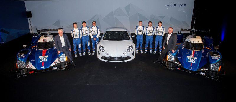İki Alpine A460 prototipi 2016 FIA Dünya Dayanıklılık Şampiyonası'nda başarı kovalayacak