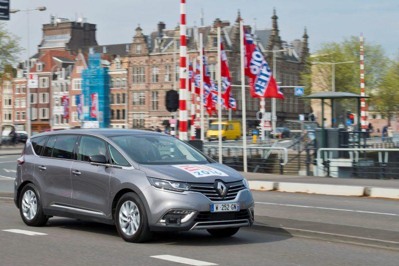 Renault Espace Otonom Demo Aracını Tanıtıyor
