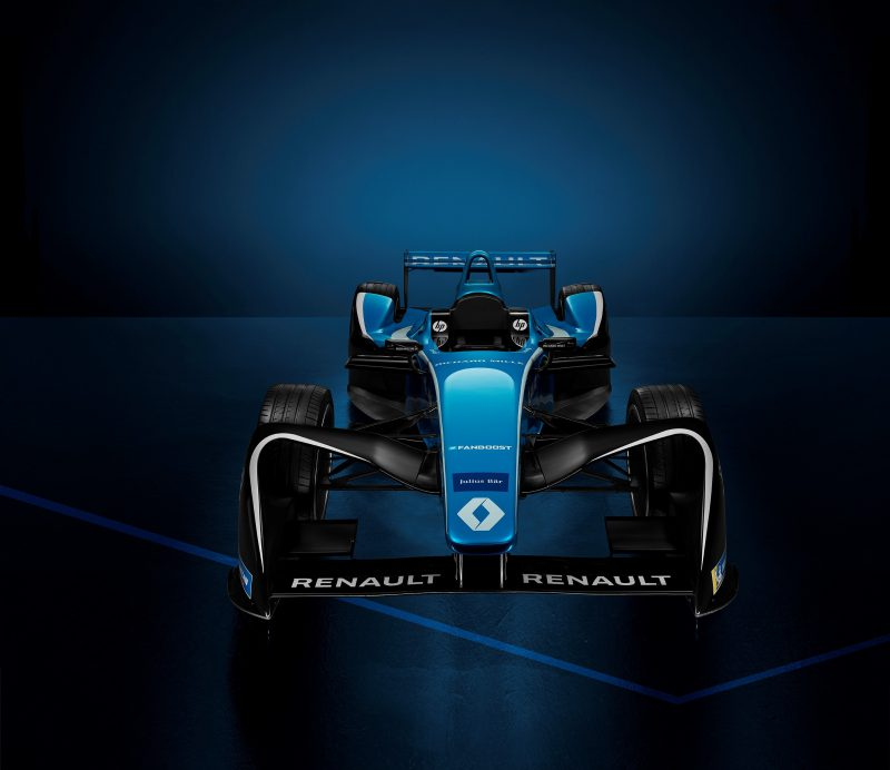 Şampiyon Renault E.dams'in Yeni Sezon Otomobili Tanıtıldı