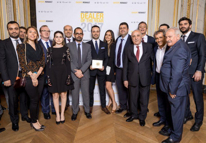 """Türkiye'den 7 Renault Yetkili Satıcısı """"Yılın Yetkili Satıcısı""""Ödülü Aldı"""