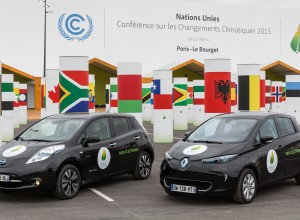 Renault-Nissan İttifakı Elektrikli Araç Filosu Paris İklim Konferası'nda175 Bin Km Sıfır Salımlı Yol Katetti