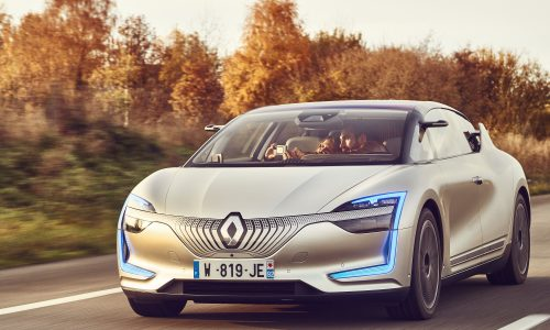 Renault SYMBIOZ Demo Car ile Otonom Sürüş