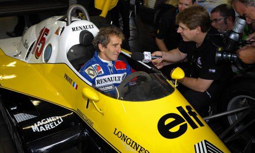 ALAIN PROST: Renault Markasının Yeni Elçisi