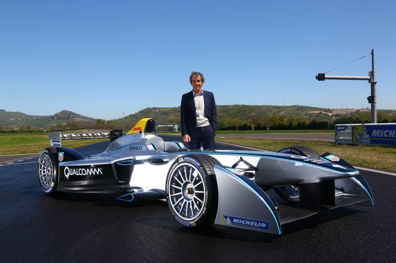 Renault Formula E İçin Pistte