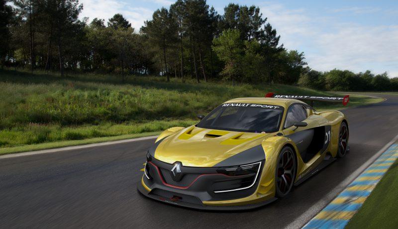 Renault Sport RS 01 Performans için Üretilmiş Göz Alıcı Tasarıma Sahip Bir Yarış Otomobili