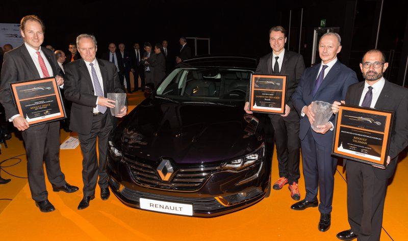 Renault'ya 2016 Uluslararası Otomobil Fesivali'nden Üç Ödül