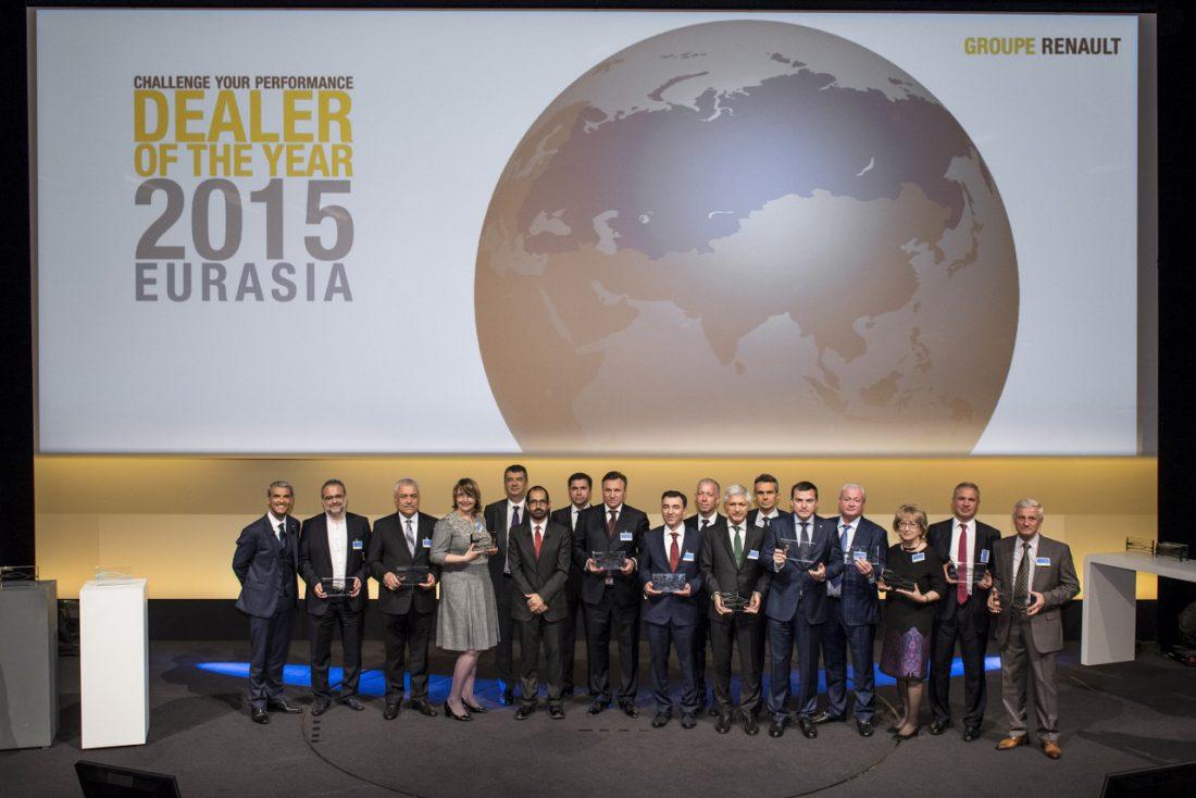 """Türkiye'den Üç Renault Yetkili Satıcısı """"Yılın Yetkili Satıcısı"""" Ödülü Aldı"""