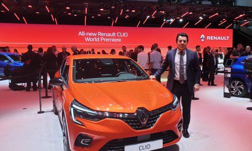 Renault Cenevre Otomobil Fuarı'nda Yeni Clio'nun Dünya Prömiyeri'ni gerçekleştiriyor.