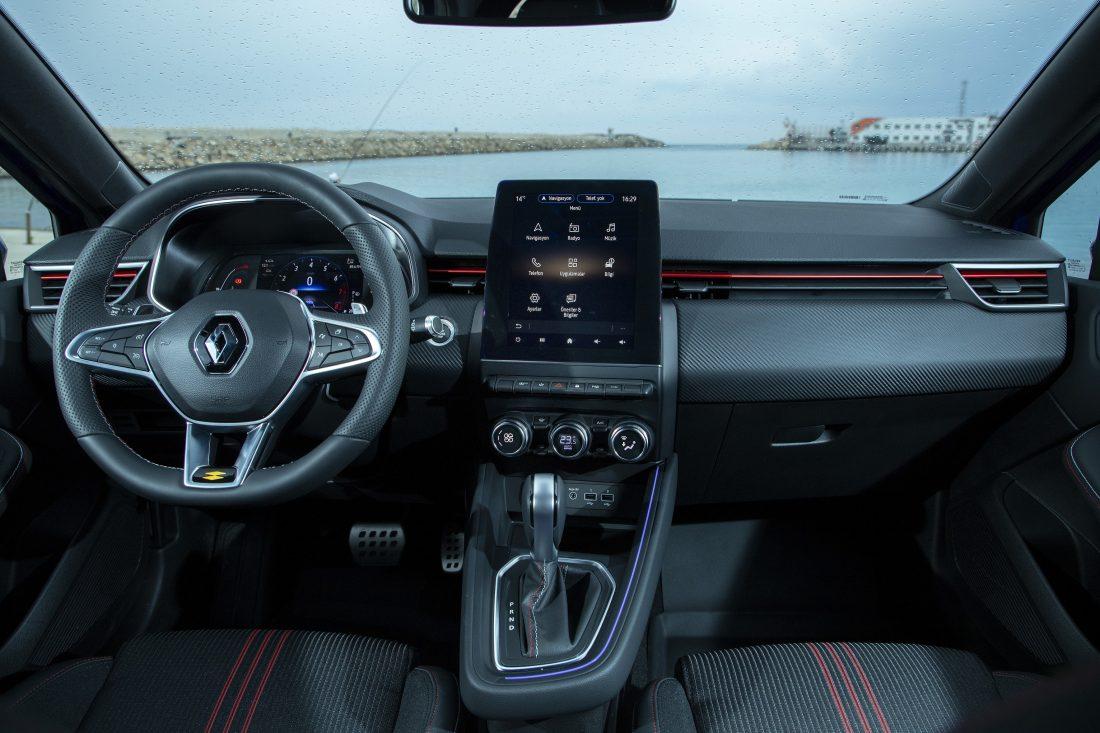 Yeni Renault CLIO İç Tasarım