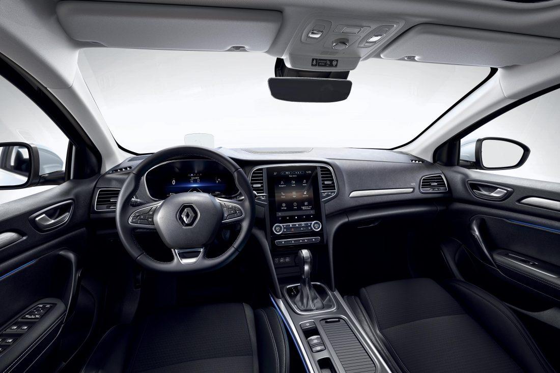 Yeni Renault Megane Sedan İç Tasarım